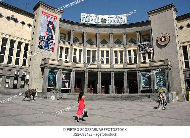 Yerevan, Armenia: the Moscow Cinema