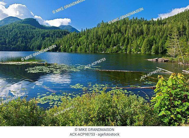 North Lake on the Sunshine Coast kookumchuck British Columbia Canada