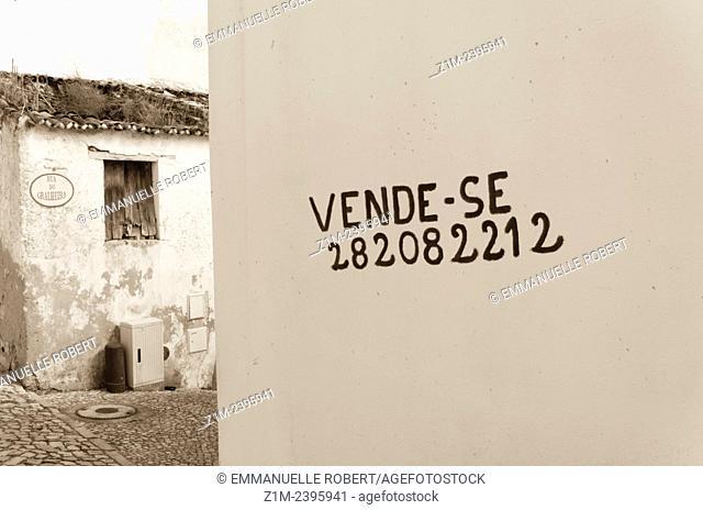ALte city center, Algarve, Portugal, EUrope