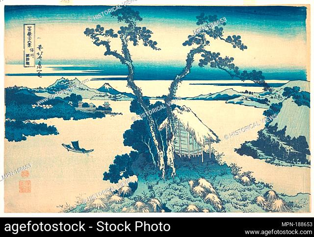 €ä¿¡å·žè«è¨ªæ¹-. Artist: Katsushika Hokusai (Japanese, Tokyo (Edo) 1760-1849 Tokyo (Edo)); Period: Edo period (1615-1868); Date: ca