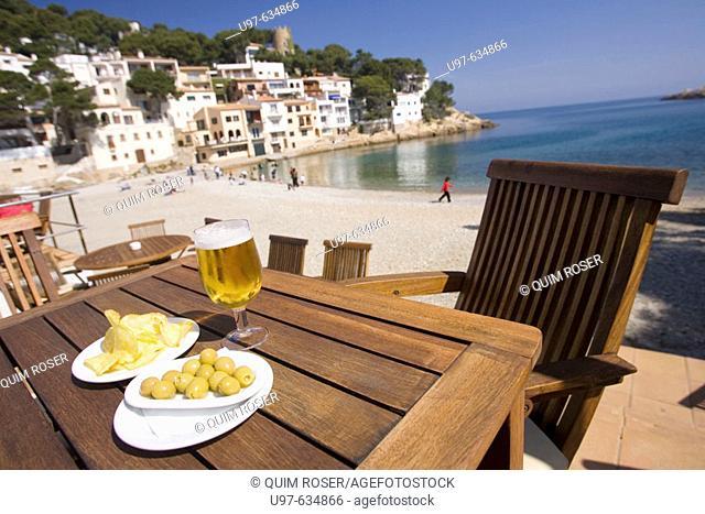 Sa Tuna beach, Begur, Girona province, Spain