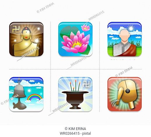 various types of icon