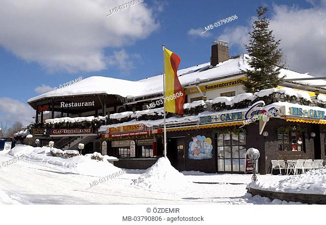 Titisee Neustadt In Winter Stock Photos And Images Agefotostock