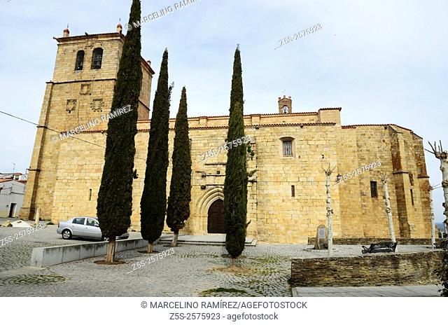 Iglesia de San Pedro - Church of Saint Peter - Garrovillas de Alconetar, Cáceres. Extremadura. Spain. Europe