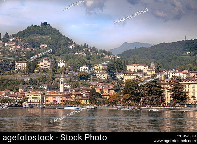 Menaggio in Lago di Como lake in Lombardy Italy
