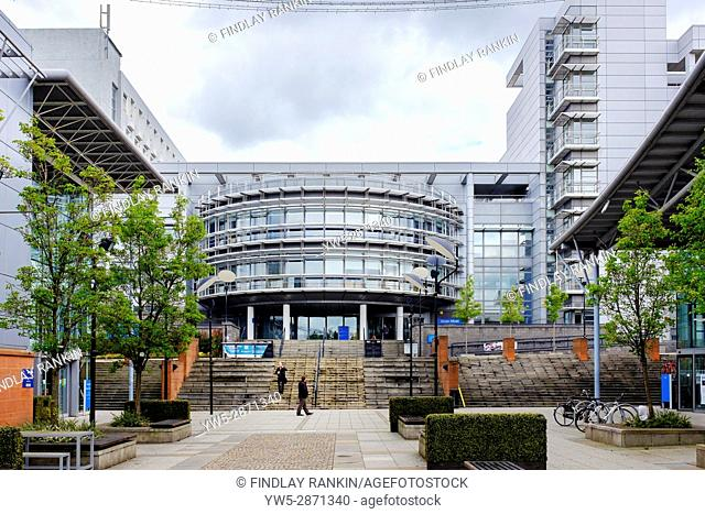 Main entrance to Glasgow Caledonian University, Glasgow, Scotland