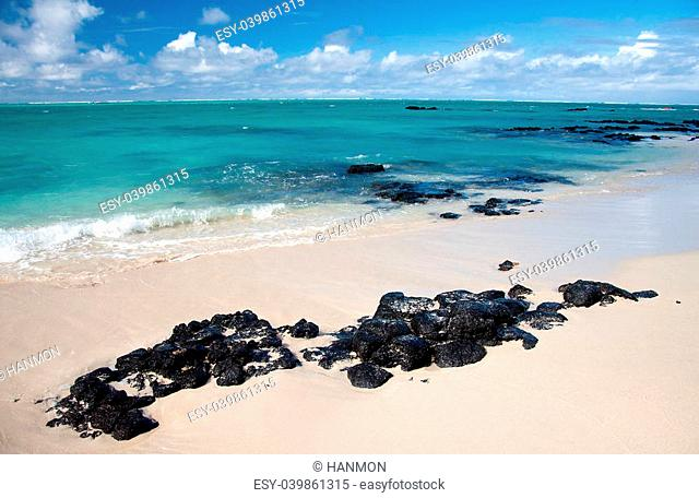 Ile aux Cerfs is an island near the east coast of the island of Mauritius in the Flacq District