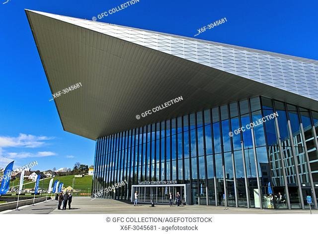 SwissTech Convention Center, École polytechnique fédérale de Lausanne, EPFL, Lausanne, Switzerland