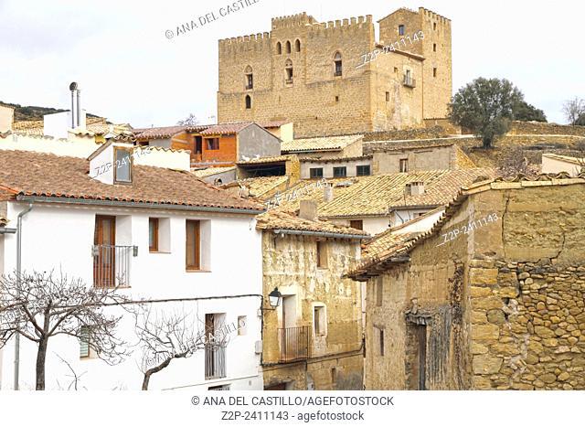 Castle,Todolella village, Maestrazgo,Teruel, Aragon, Spain