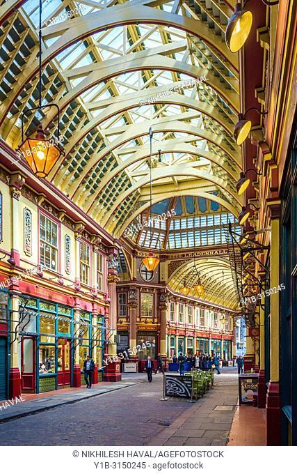 Leadenhall Market, London, UK
