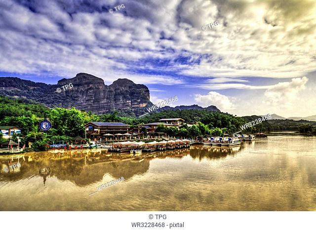 Danxia Mountain Sleeping Beauty;Shaoguan; Guangdong; China
