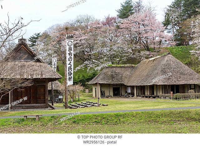 Michinoku Folklore Village in Iwate, Japan