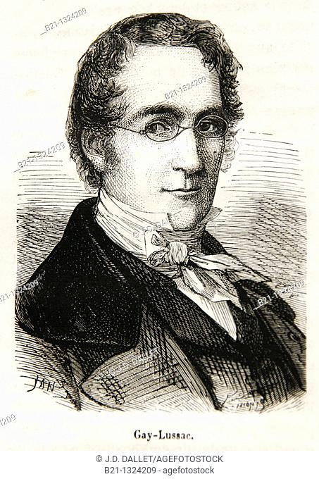 Joseph Louis Gay-Lussac also Louis Joseph Gay-Lussac, 6 December 1778 – 9 May 1850 was a French chemist and physicist  He is known mostly for two laws related...