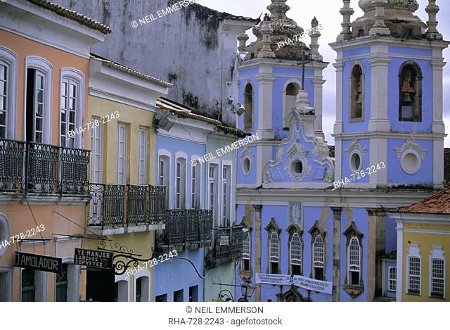 Pelourinho, Salvador da Bahia Salvador Bahia, UNESCO World Heritage Site, Brazil, South America