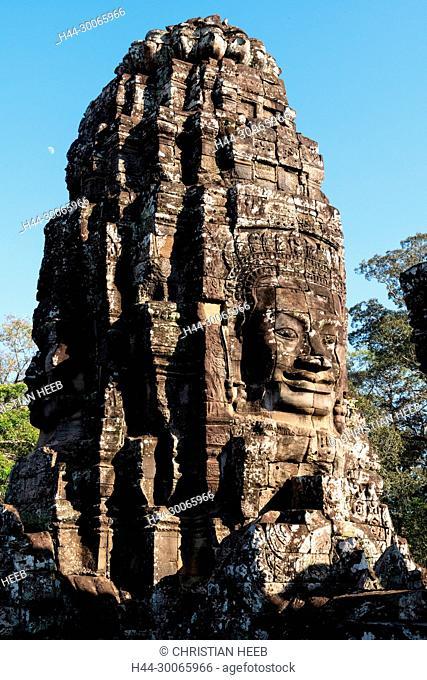 Asia, Southeast Asia, asian, Cambodia, cambodian, Siem Reap, UNESCO, World Heritage, Angkor Thom, Bayon