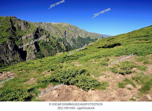 Botev Peak. Central Balkan National Park. Bulgaria