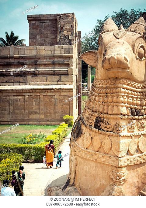 Gangaikonda Cholapuram Temple. India, Tamil Nadu