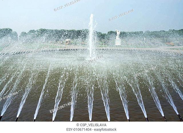 Fountain in Herrenhausen Gardens, Hannover, Lower Saxony, German