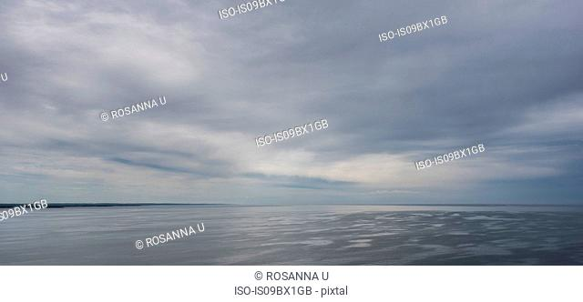 Stormy sky, Northumberland Strait, Charlottetown, Canada