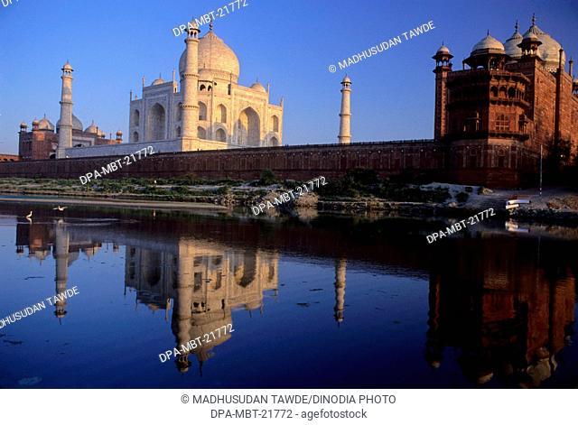 Taj Mahal , Agra , Uttar Pradesh , India