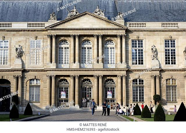 France, Paris, Hotel de Soubise part of the French National Archives