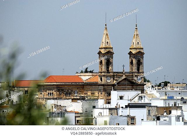 Basilica minore dei Santi Medici Alberobello, province of Bari, Puglia, Italy, Europe