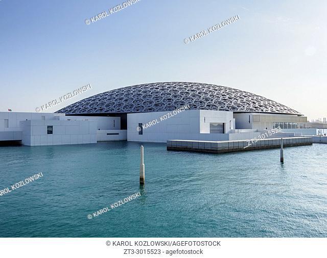 Louvre Museum, Abu Dhabi, United Arab Emirates