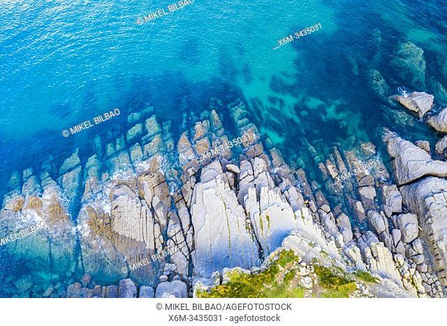 Coastal landscape. Cantabria, Spain, Europe