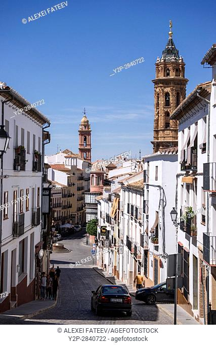 A view of Antequera, small town in Andalucia, Spain