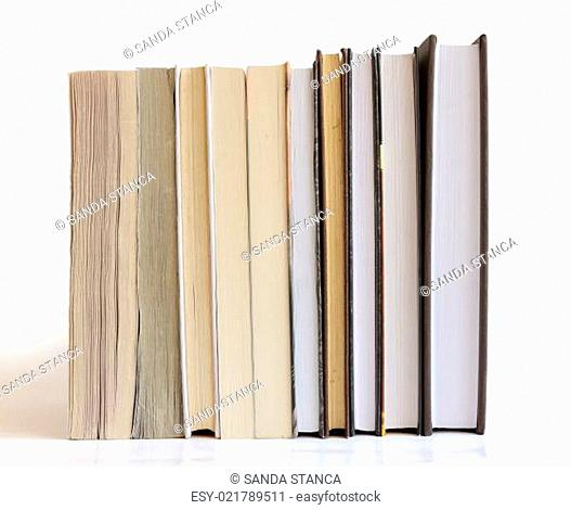 Books in a row