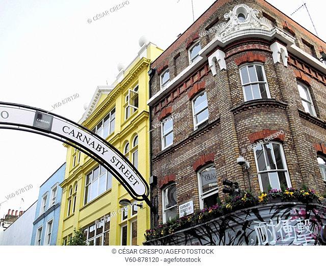 -Carnaby Street in London-