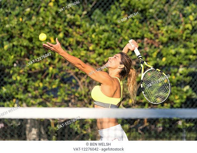 Tennis player; Tarifa, Cadiz, Andalusia, Spain