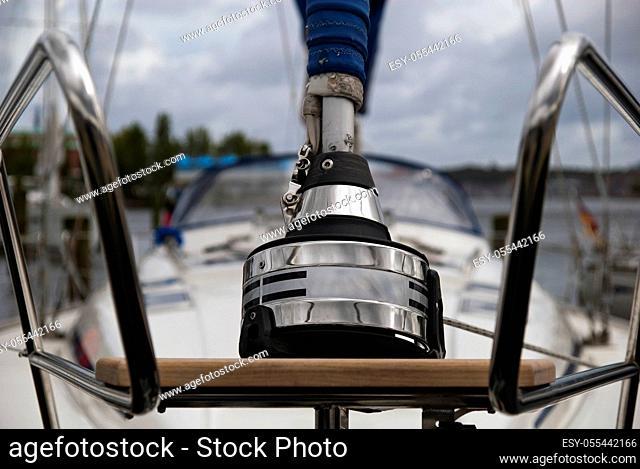 sailboat, mast step