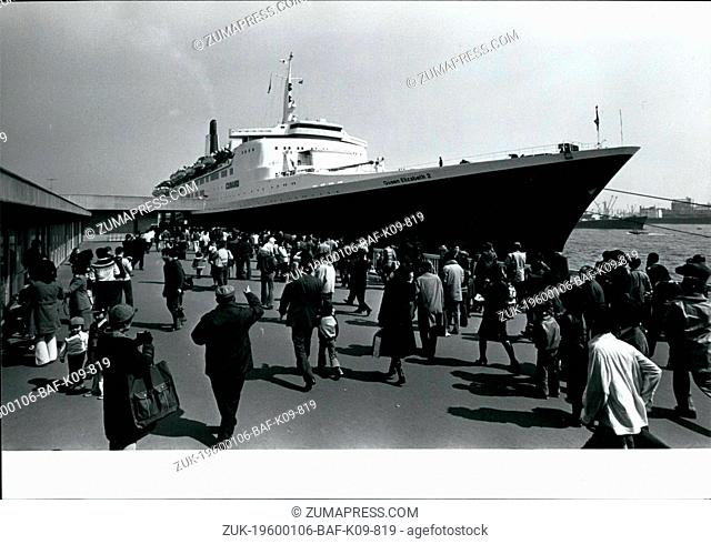 1968 - The QEII arrives in Yokohama.: The Queen Elizabeth II arrived in Yokohama on Saturday for the second time in two years and attracted a large number of...