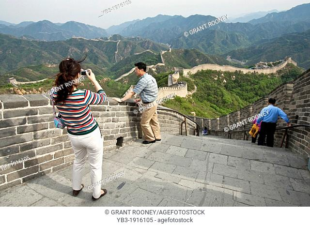 Chinese Tourists, The Great Wall of China
