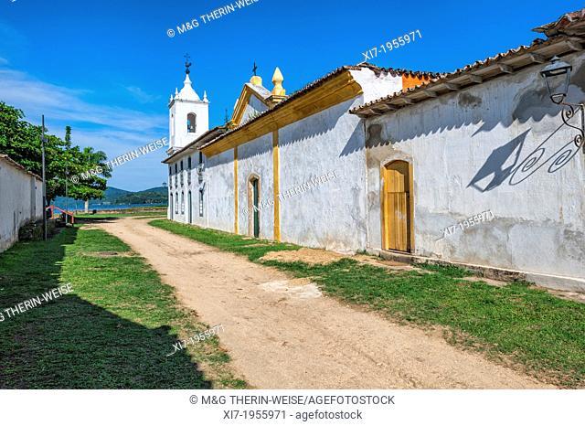 Nossa Senhora das Dores Chapel, Paraty, Rio de Janeiro state, Brazil