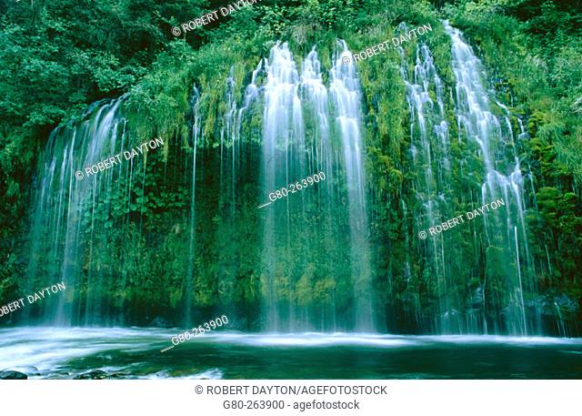 Mossbrae Falls. California. USA