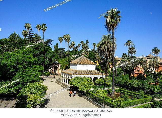 The Alcázar Gardens (Seville)