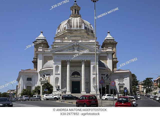 Chiesa Parocchia Gran Madre di Dio Church. Rome, Italy