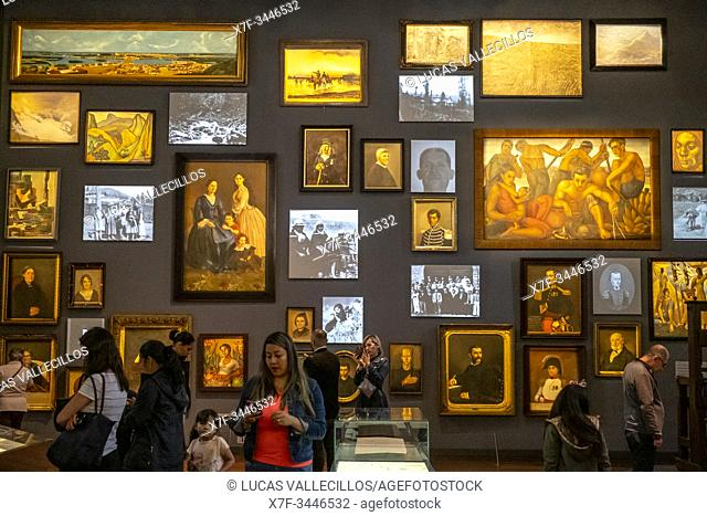 Memory and nation hall, National Museum of Colombia, Bogota, Colombia