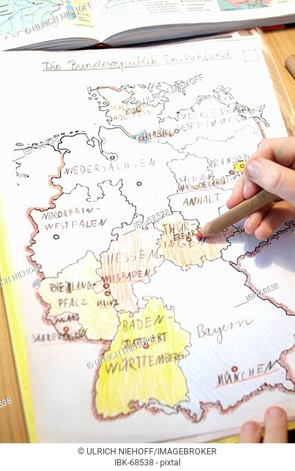Homework the Lands of the Federal Republic of Germany