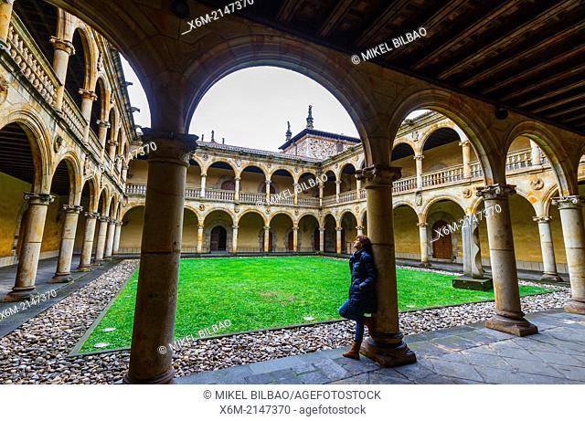 Courtyard. University of the Holy Spirit (Sancti Spiritus). Oñate. Guipuzkoa, Spain