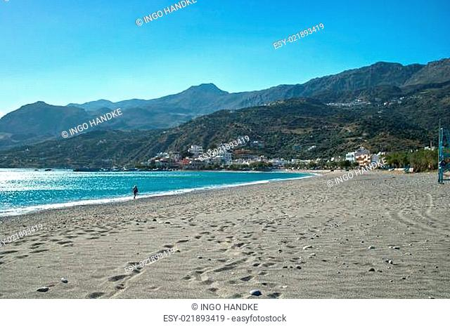 Kreta - Der Strand bei Plakias