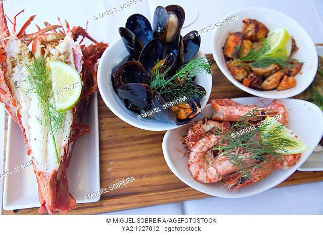 Cape Cuisine - Seafood Platter - South Africa