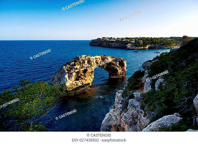 Rock arch sight es pontas majorca