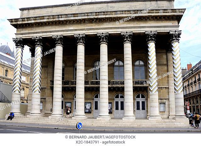 The Opera House in Dijon, Burgundy, France, Europe