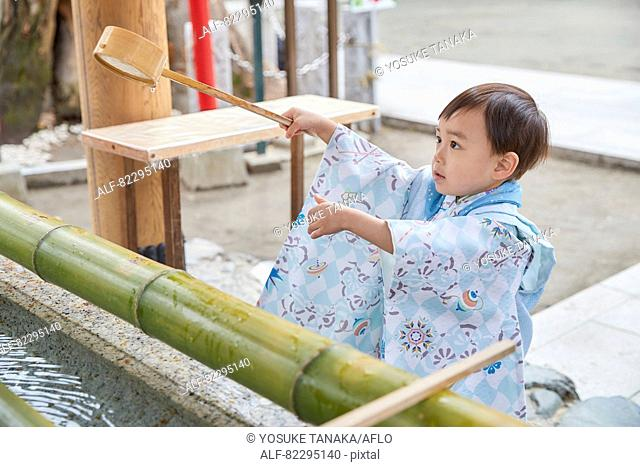 Japanese traditional Shichi-Go-San