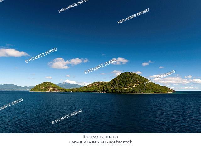 France, Guadeloupe (French West Indies), Les Saintes, Terre de Haut, Ilet a Cabrit