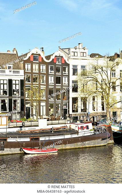 Netherlands, North Holland / Noord-Holland, Amsterdam, Amstel River