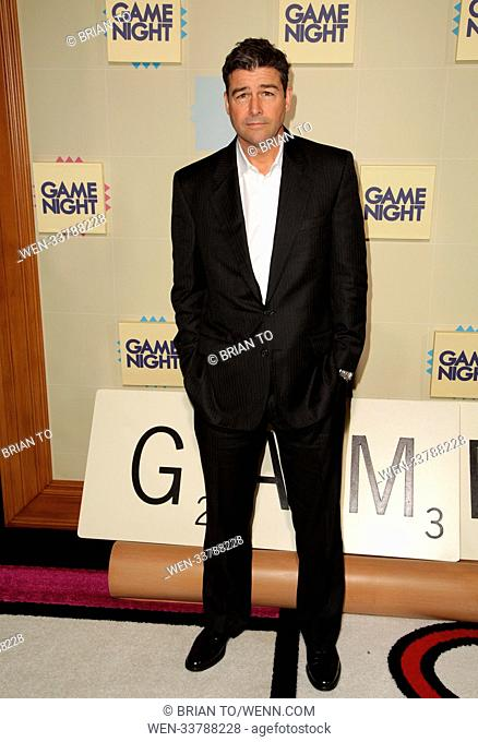 Celebrities attend World Premiere of 'Game Night' at TCL Chinese Theater. Featuring: Kyle Chandler Where: Los Angeles, California